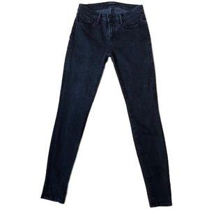 J Brand Black Medium Wash Skinny Jeans Size 27